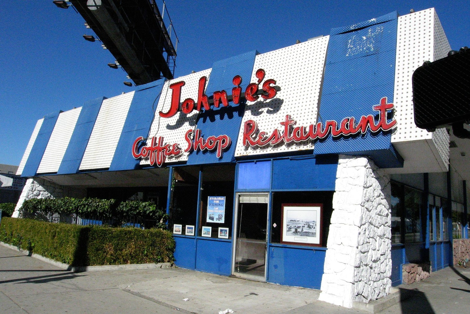 Johnie's Coffee Shop building