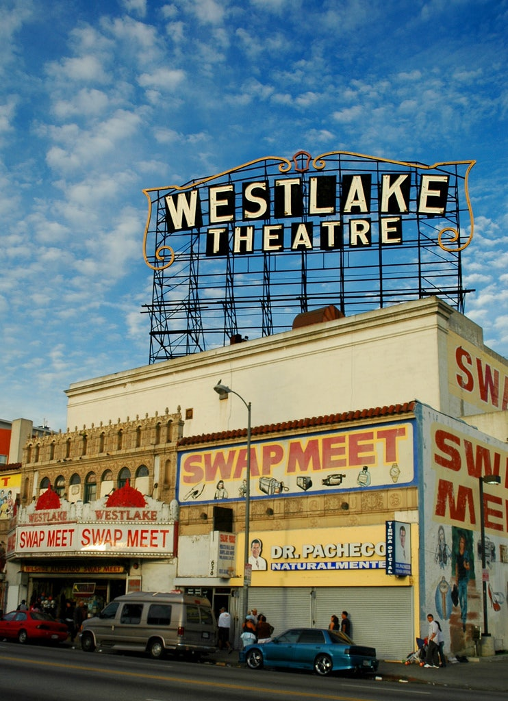 westlake theatre sign
