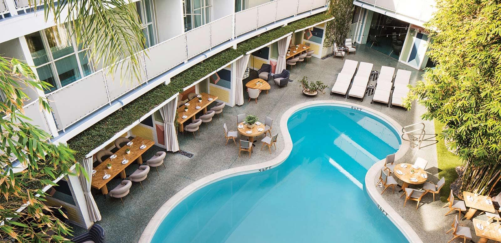 swimming pool avalon hotel
