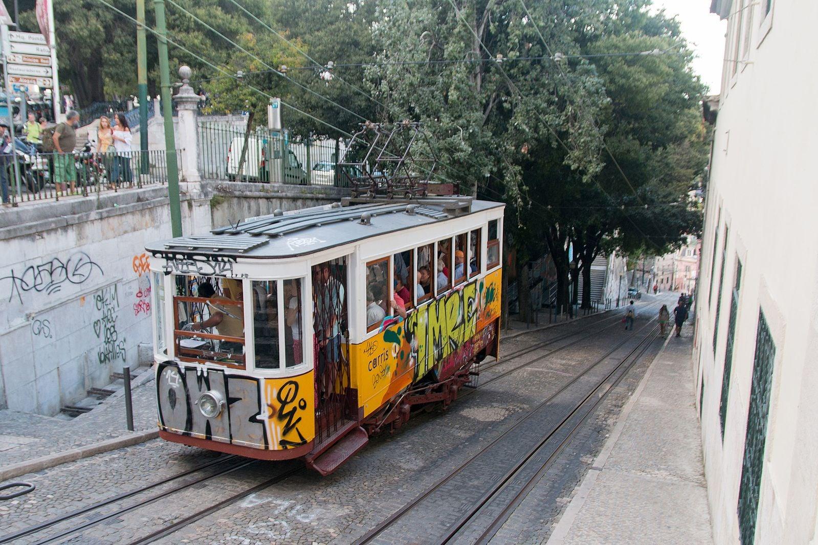 Lisbon - Ascensor da Gloria