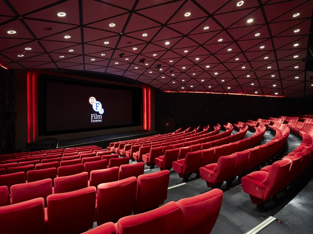 interior of cinema BFI