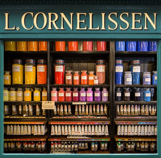 paint displayed at L. Cornelissen