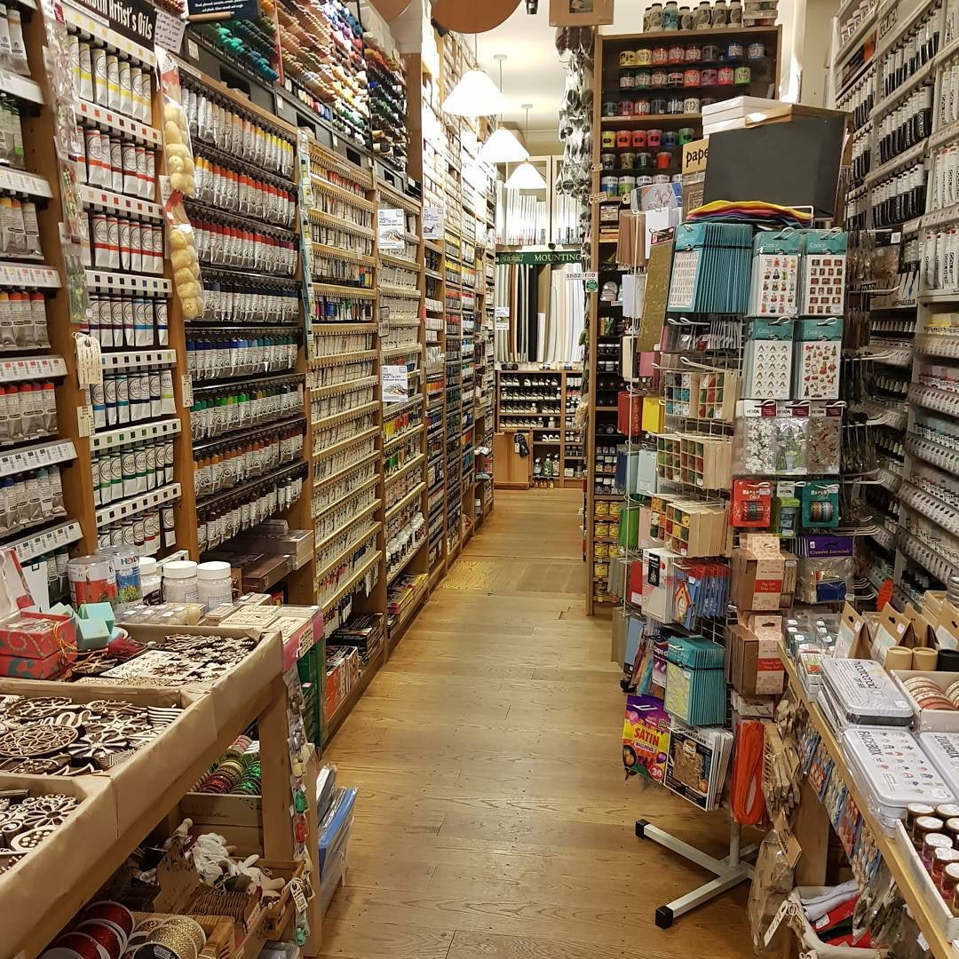 interior of Stuart R. Stevenson store