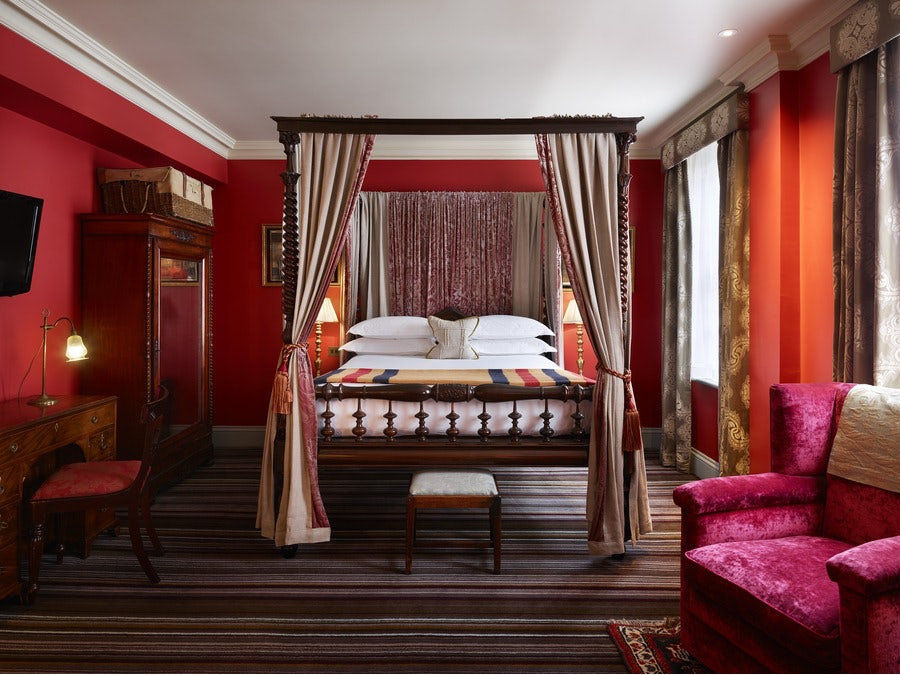 room interior of Zetter Townhouse