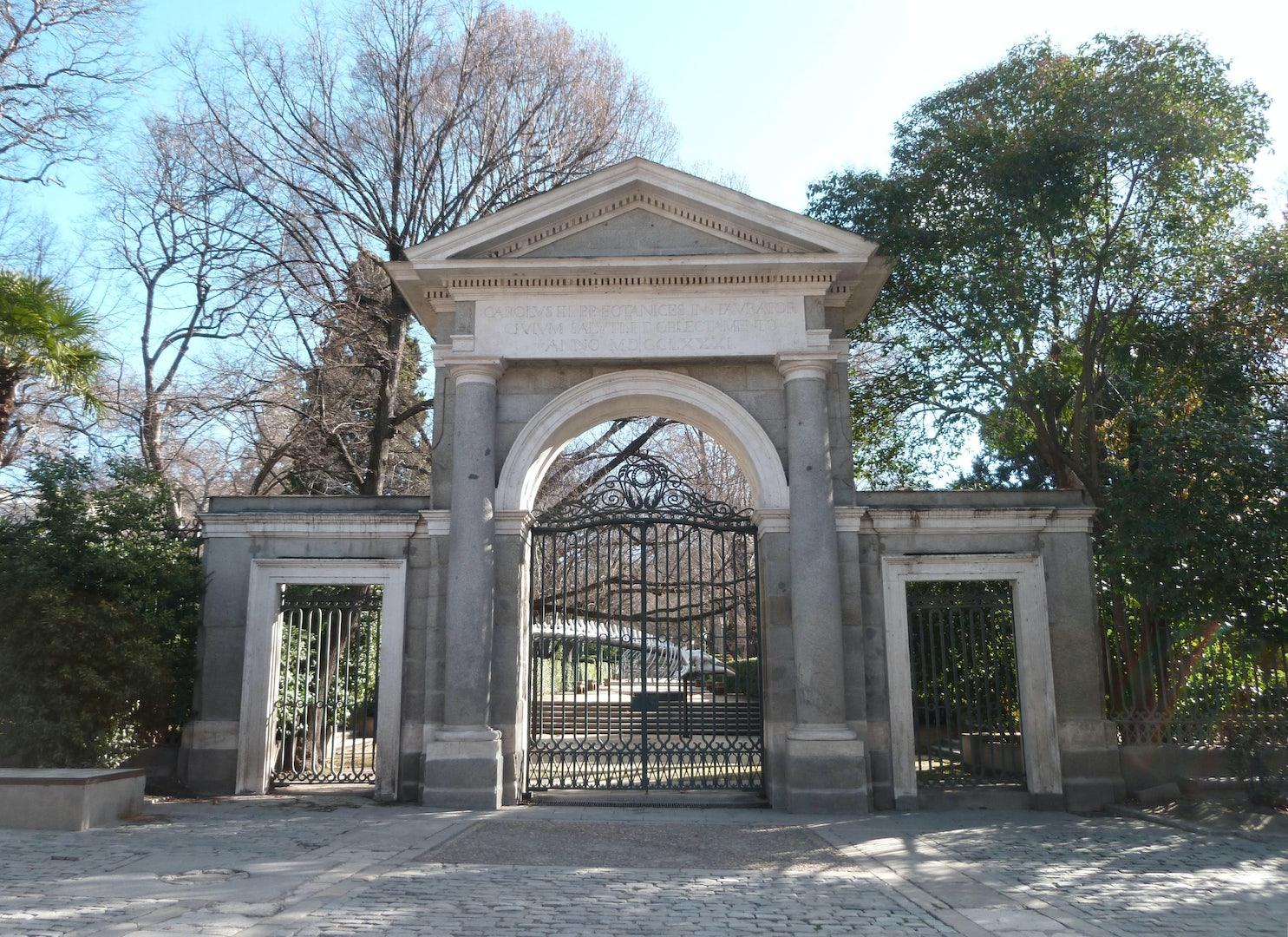 puerta real Madrid