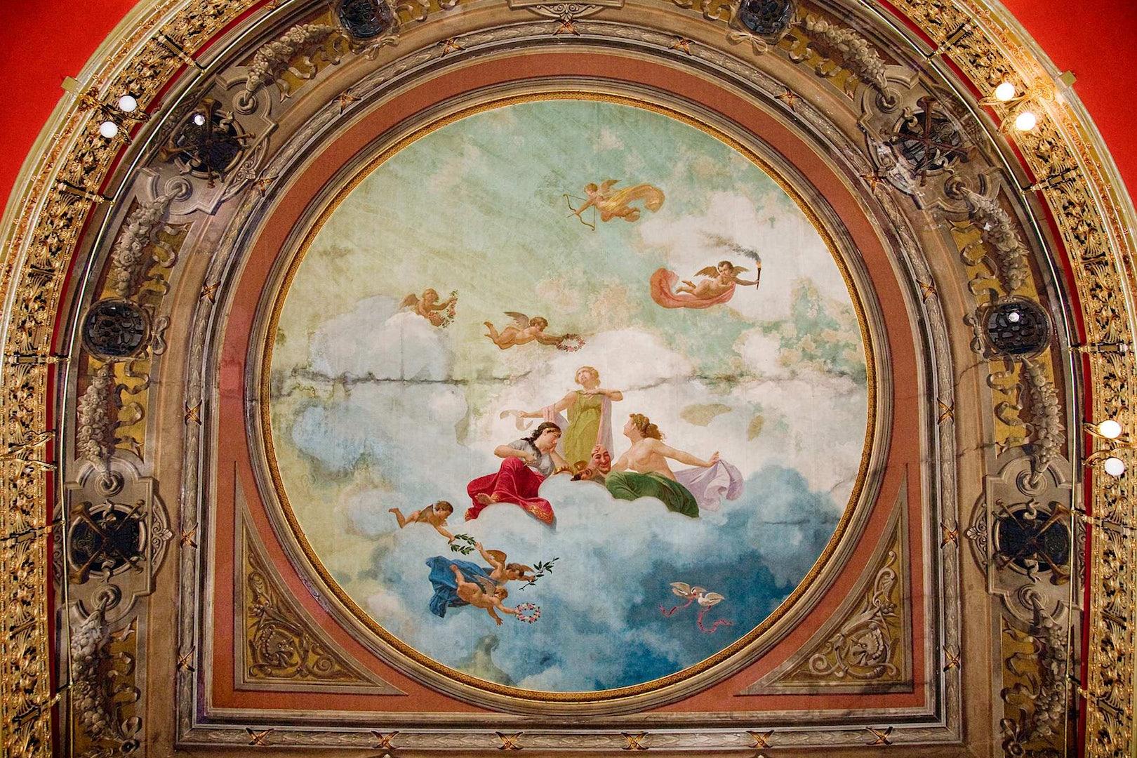 ceiling teatro lara