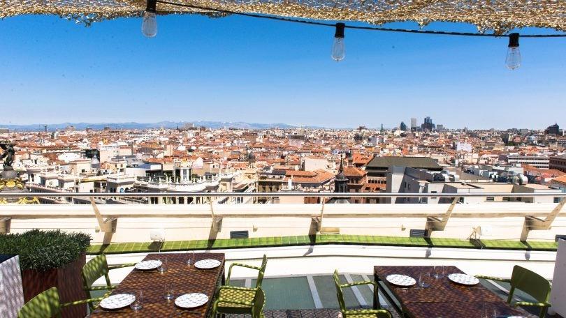 rooftop Círculo de bellas artes