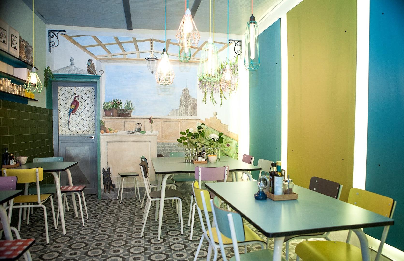 interior cripeka restaurant