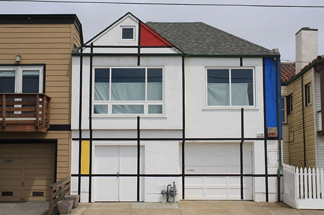 San Francisco - Mondrian House