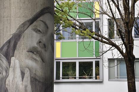street art Candidplatz