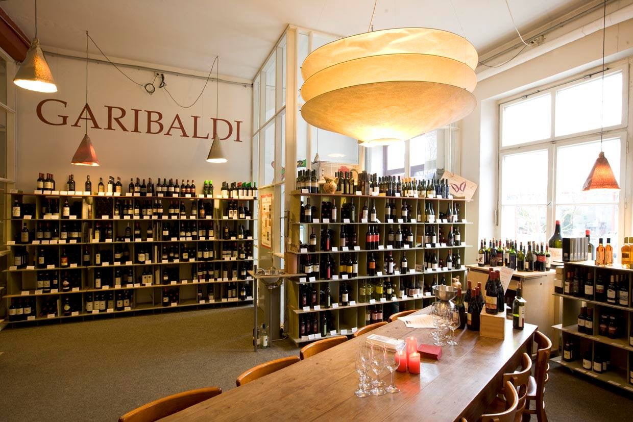 Garibaldi wine shop