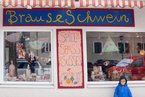 Brauseschwein gift shop