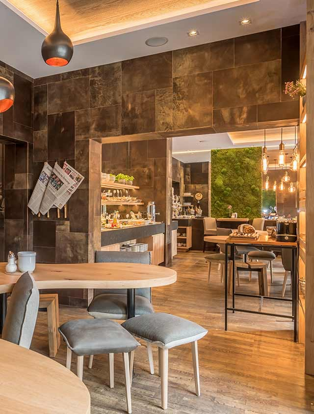 Bavaria Boutique Hotel common space