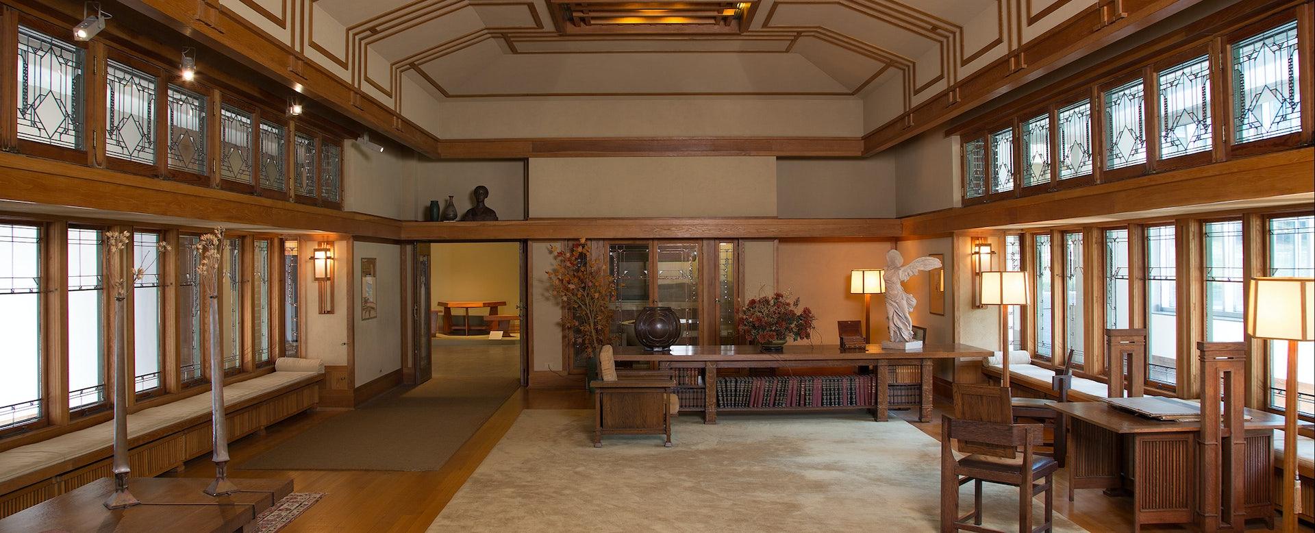 Frank Lloyd Wright Room at the Met