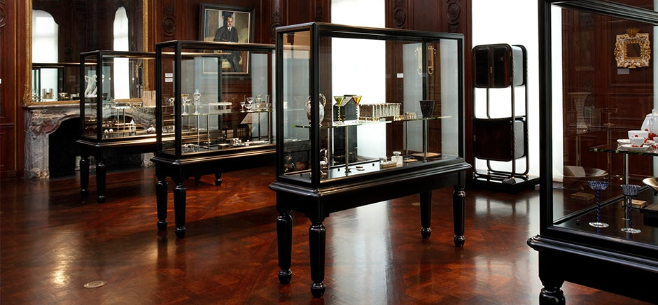 art displays at Neue Galerie