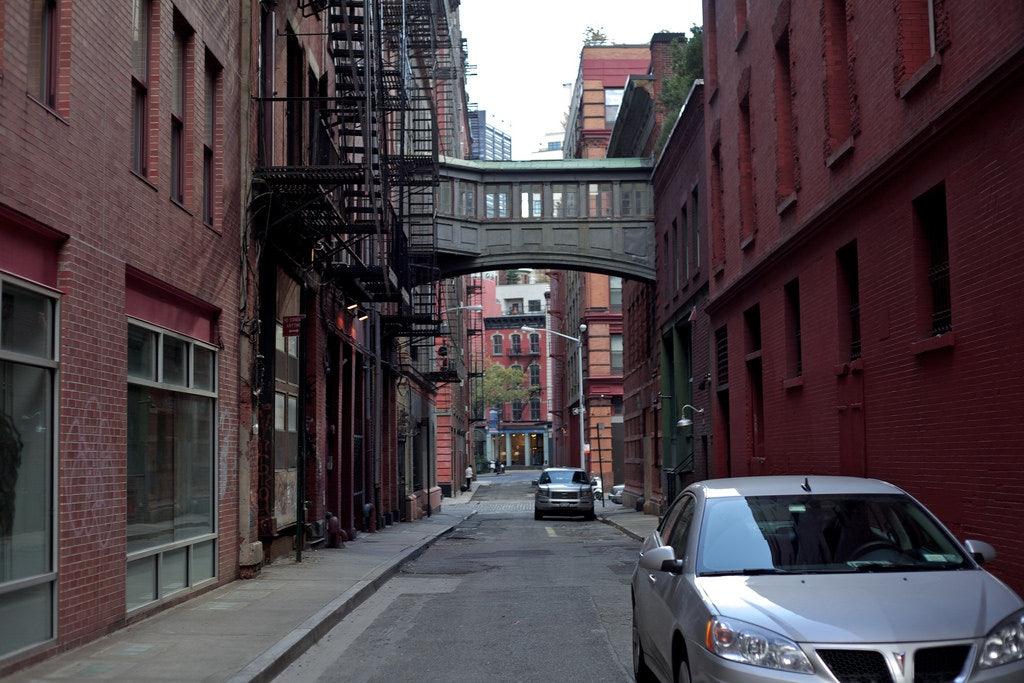 a street in Tribeca