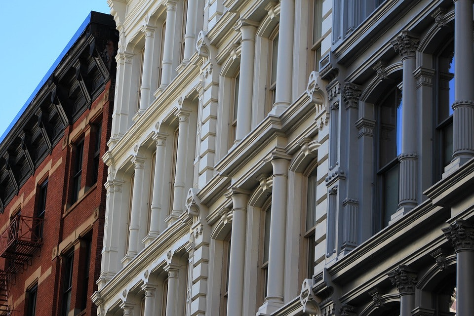 houses at West Village NYC