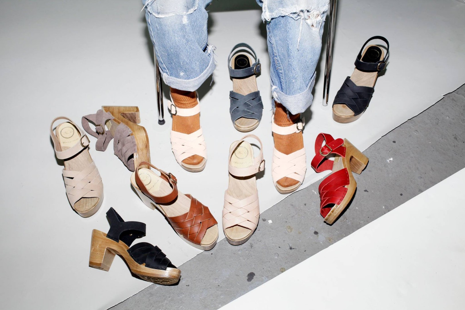 women's clogs from No. 6