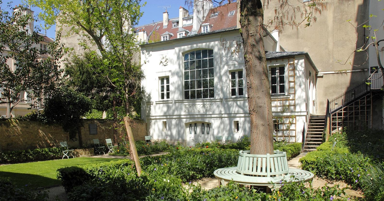 garden at Museé Eugène Delacroix