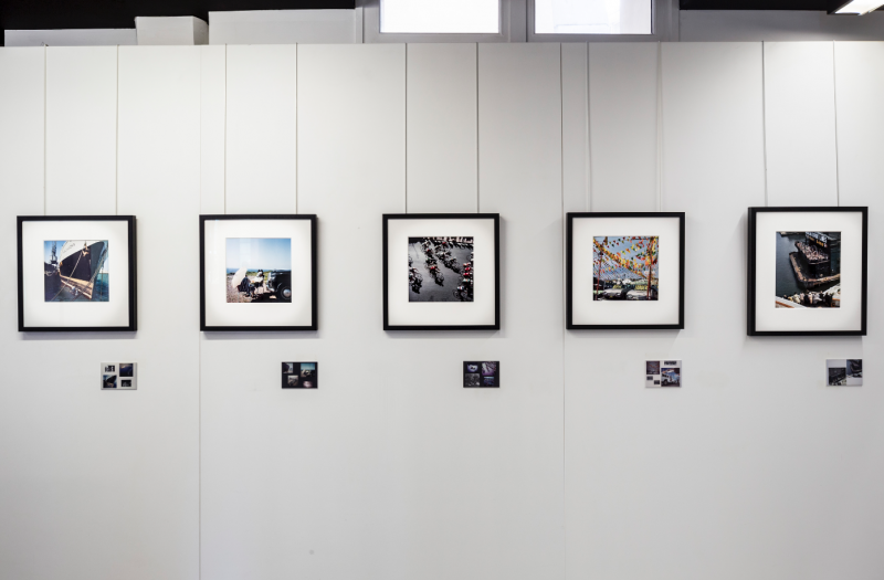 photography exhibited at Polka Galerie