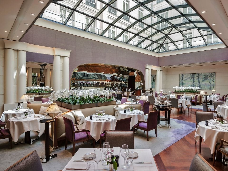 drinking and dining are at Park Hyatt Vendôme