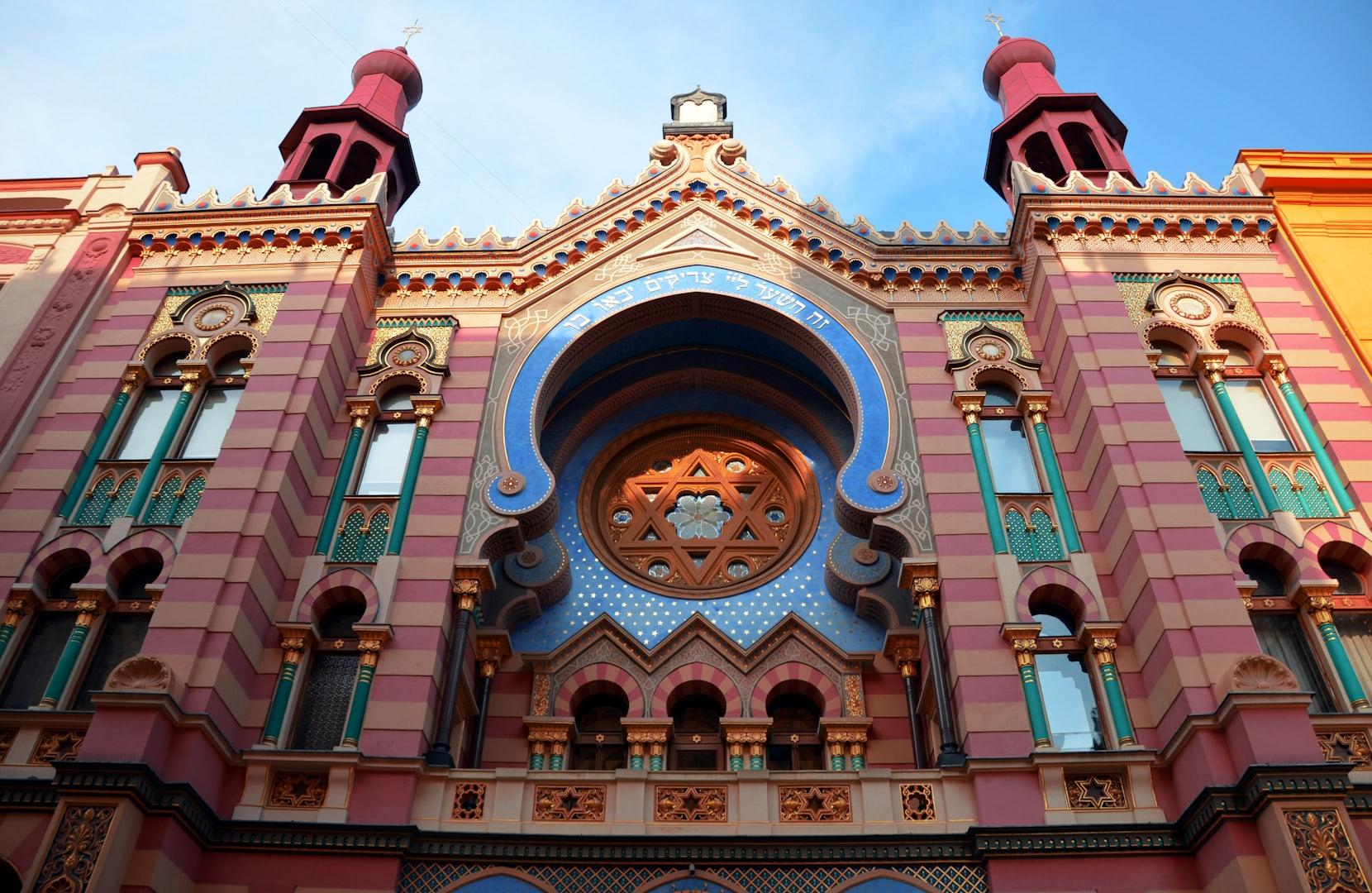 Moorish style synagogue