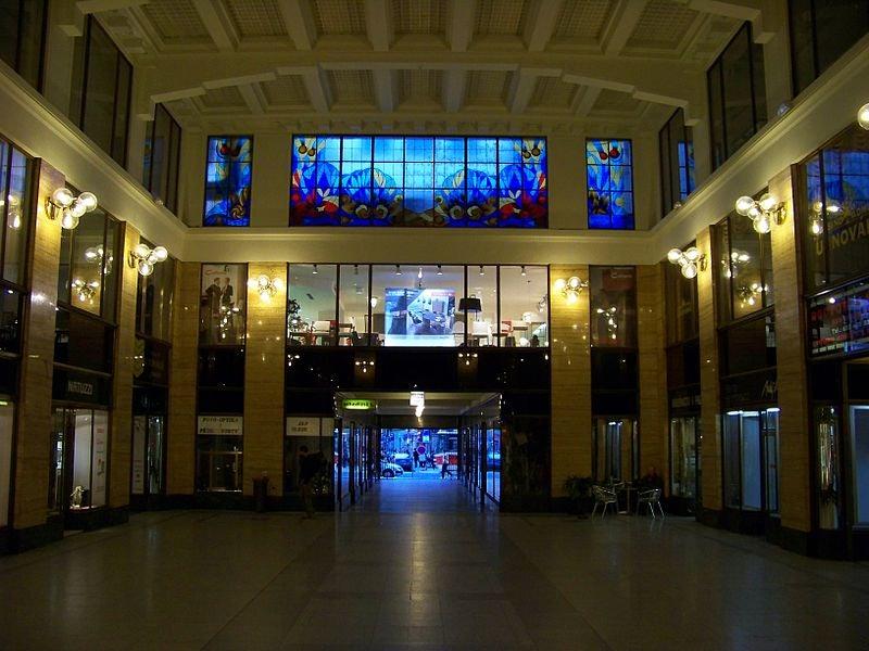 hall of U Nováku passage