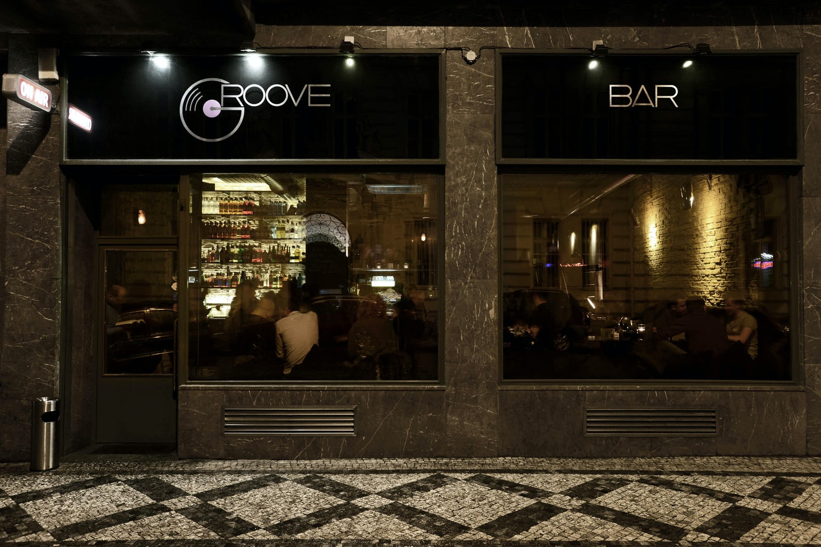 exterior of Groove Bar