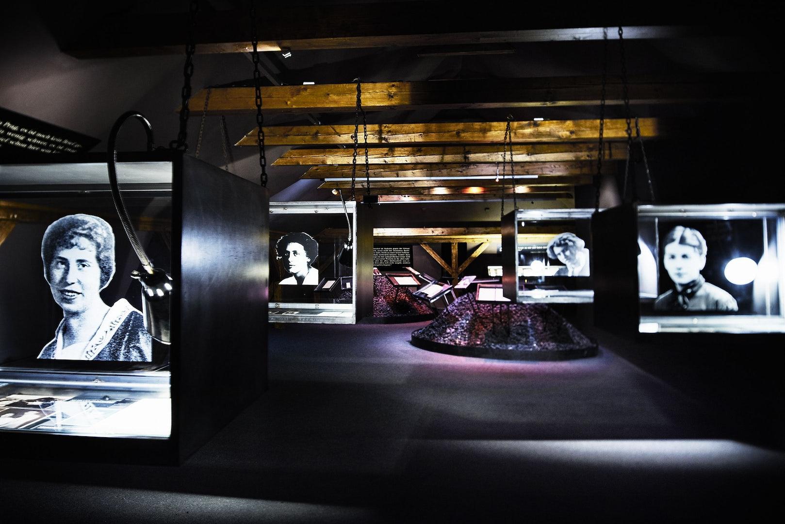 exhibition at Kafka Museum