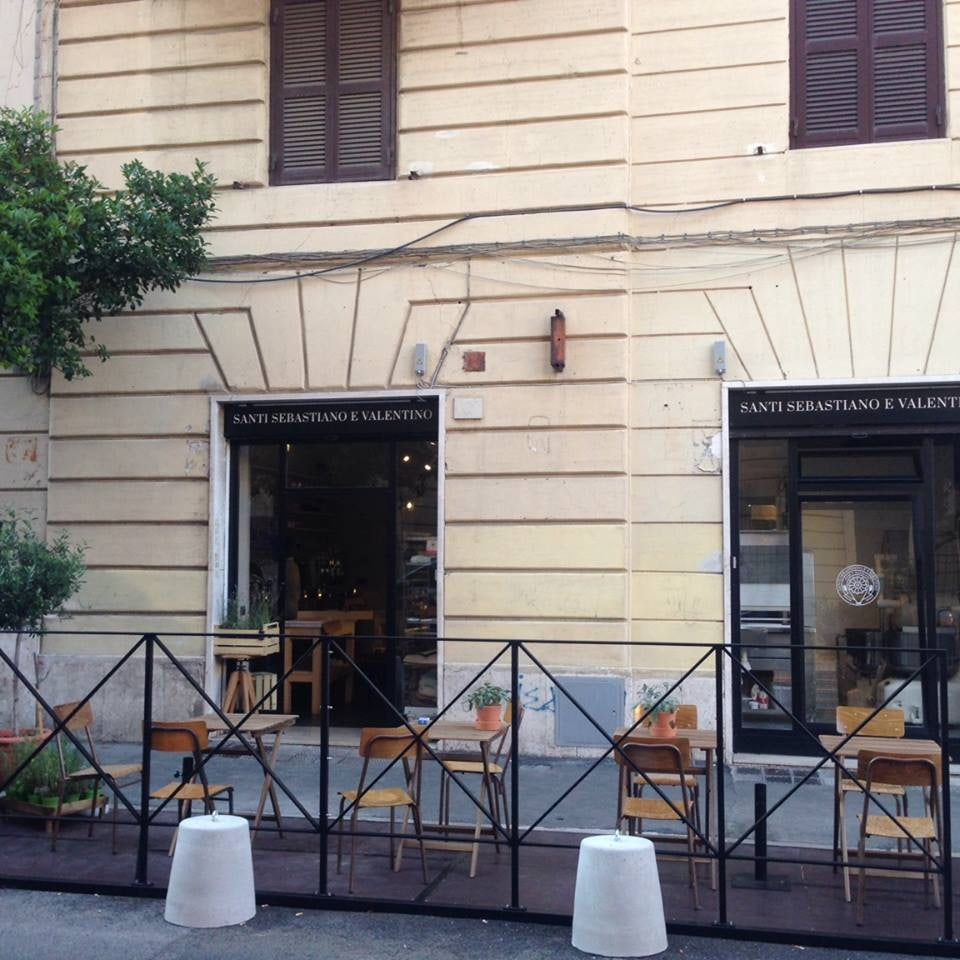 exterior of San Sebastiano e Valentino