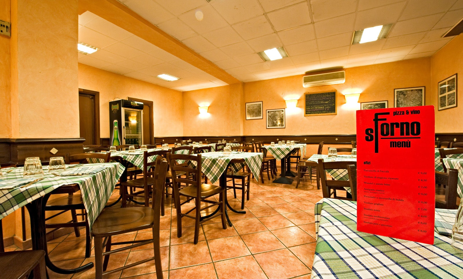 interior of pizzeria Sforno