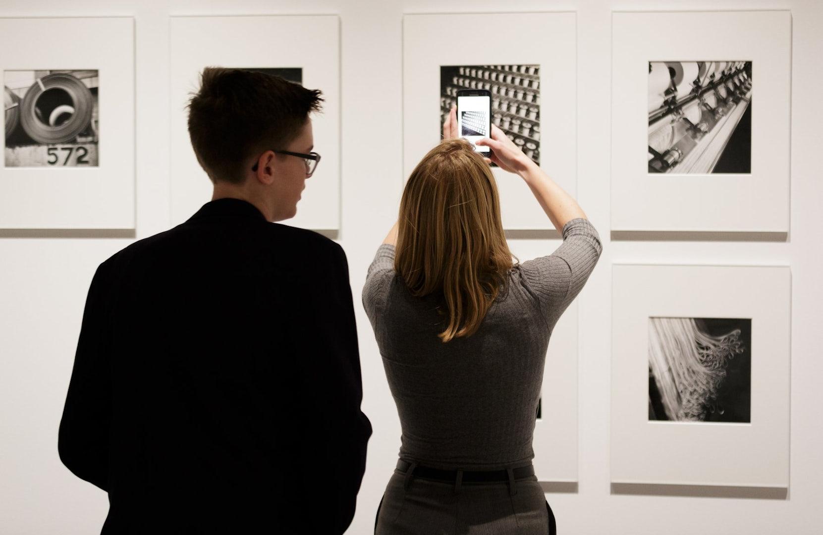 visitors at Nederlands Fotomuseum
