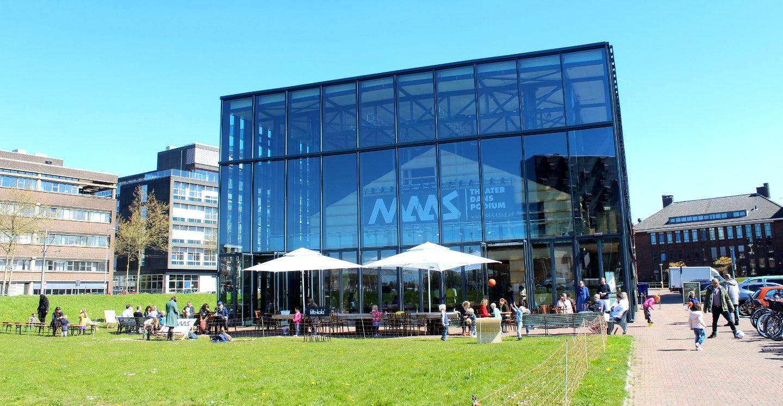 exterior of Maaspodium