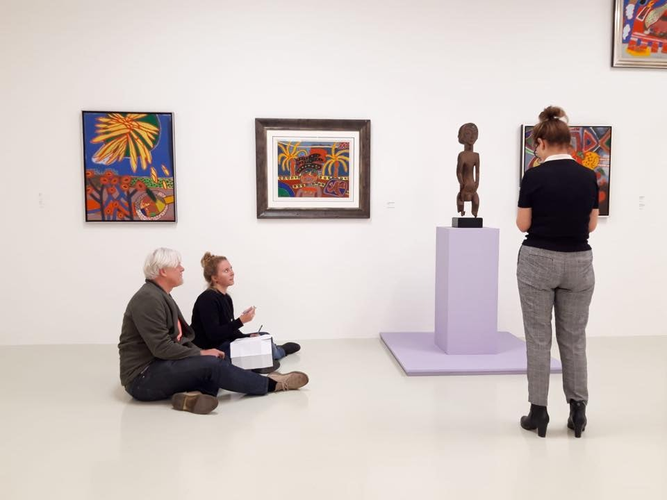 visitors at Stedelijk Museum Schiedam