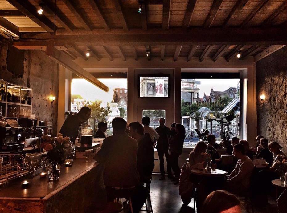 interior of Cafe Ventura