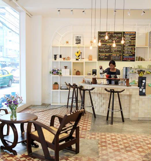 interior of Gallery Drip Coffee