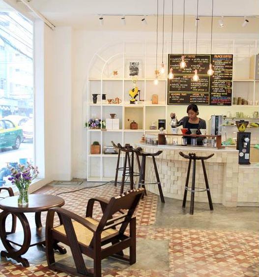 interior of Gallery Drip Coffee