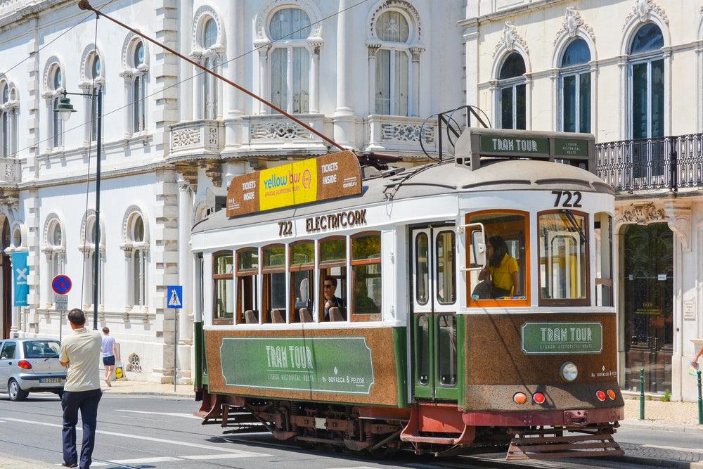Lisbon - Cork Tram