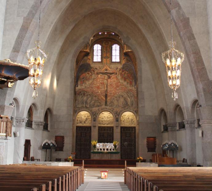 interior of Engelbrektskyrkan