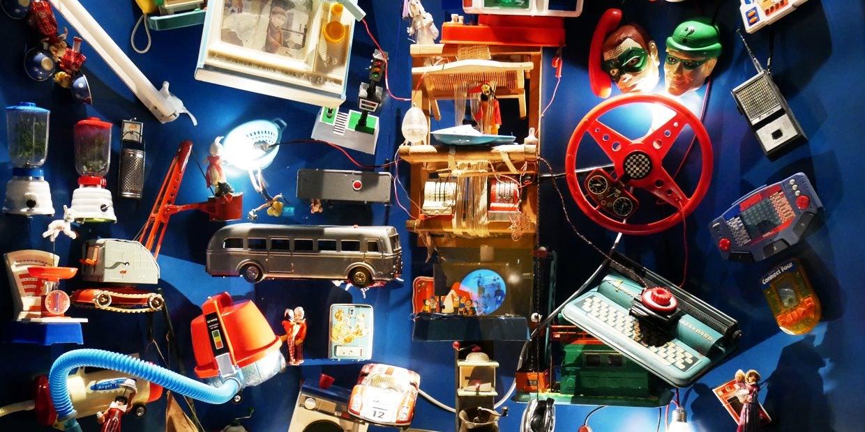 toys of Bergrummet museum