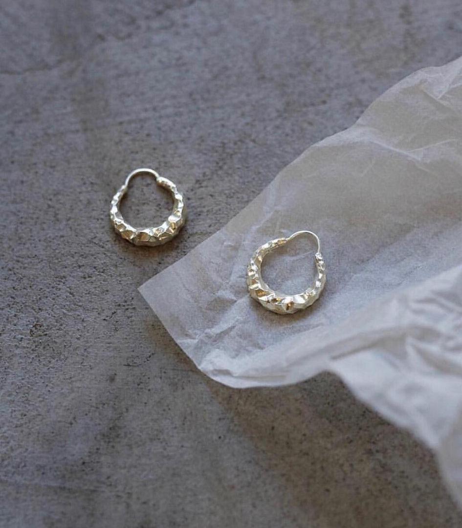 all blues earrings