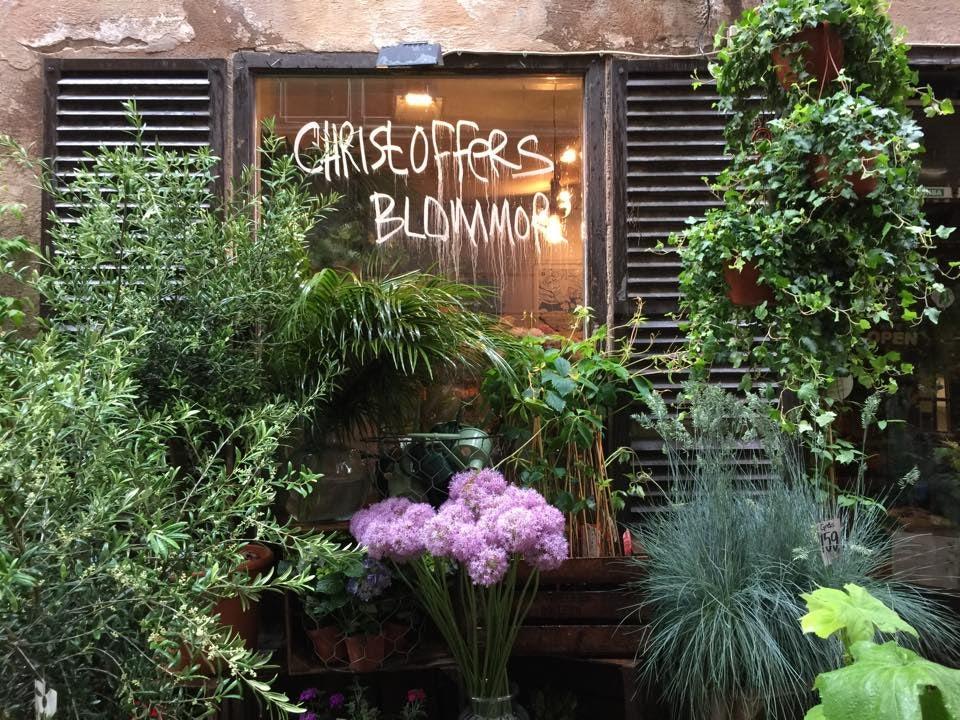 christoffers blommor stockholm