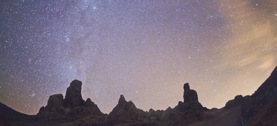 stargazing at National Park las Cañadas del Teide
