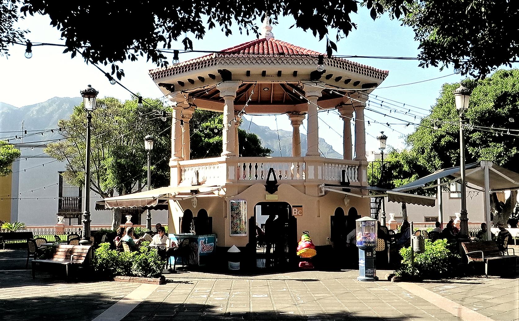 Plaza de la Luz in Los Silos