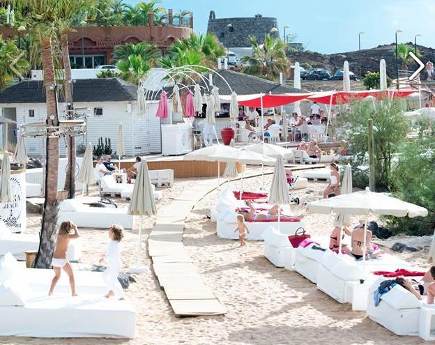 Bahía Beach club
