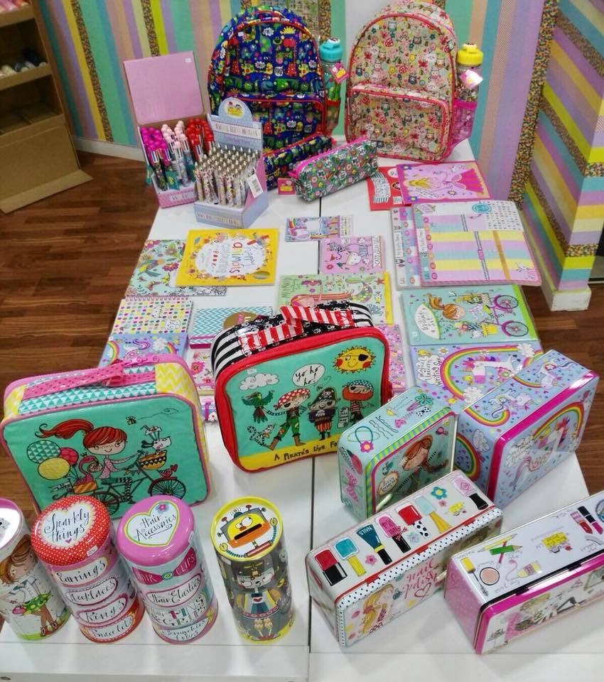 products displayed at La Niña store