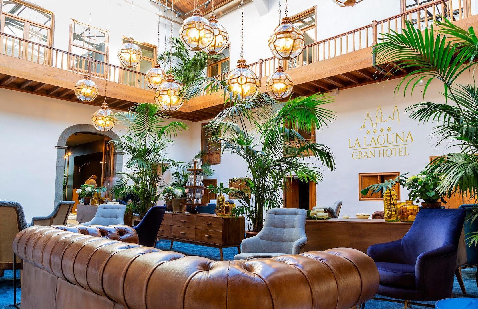 lobby of La Laguna Gran Hotel