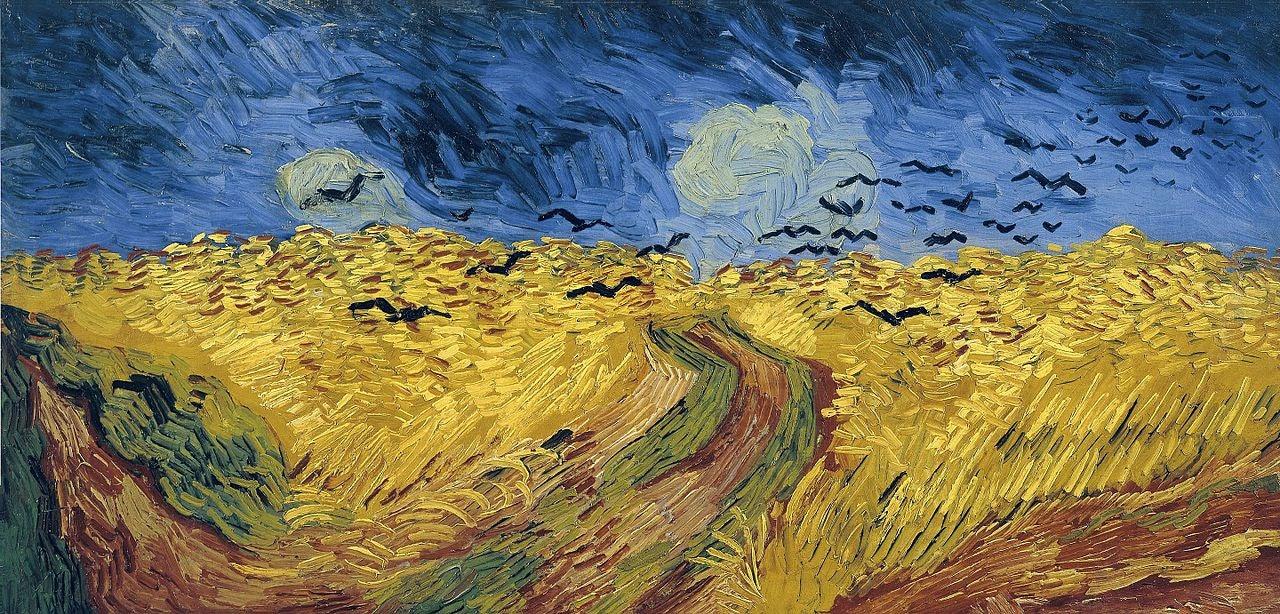 Amsterdam - Van Gogh - Wheatfield with Crows