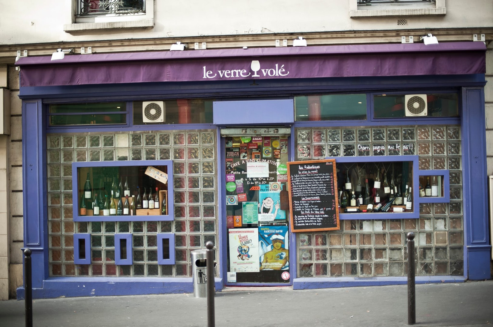 Paris - Le Verre Volé