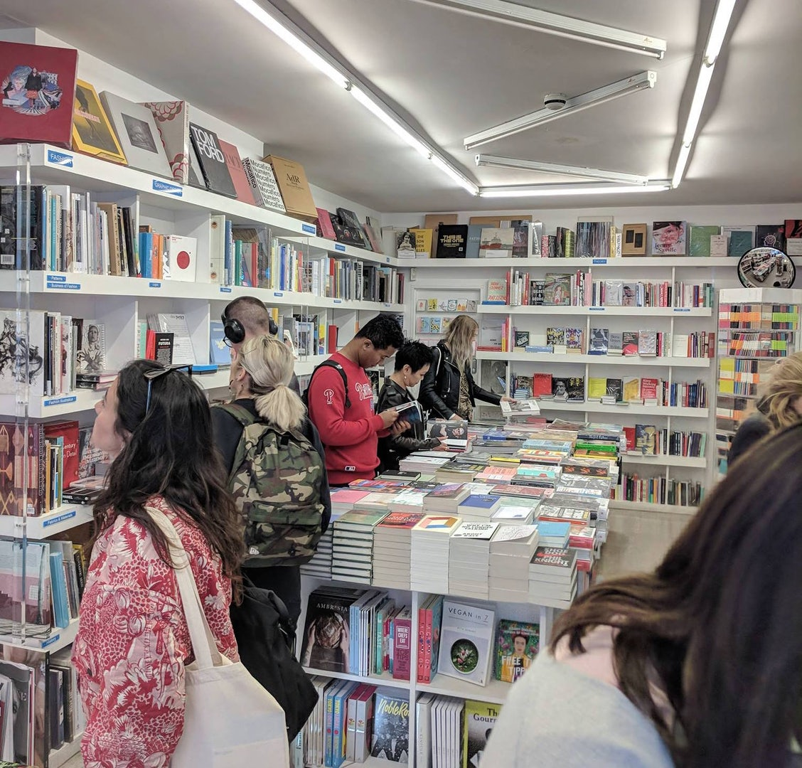 people at Artwords bookshop